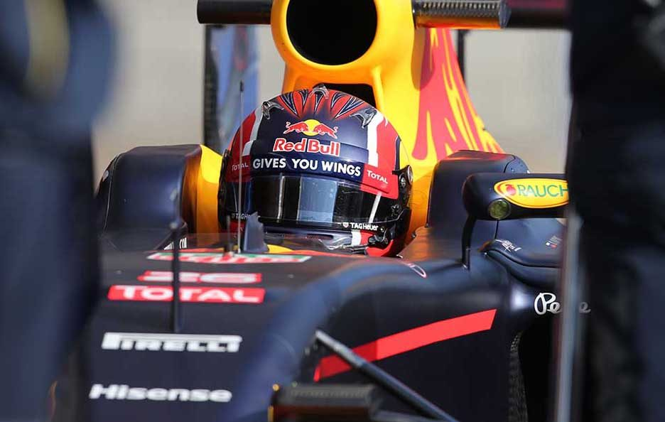 F1 test Barcellona 2016 Red Bull 2