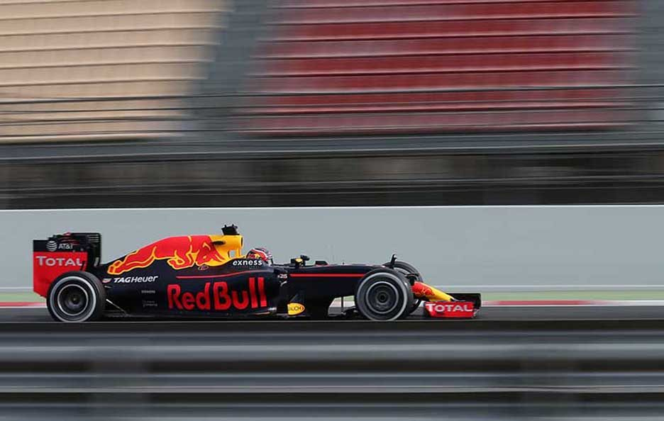 F1 test Barcellona 2016 Red Bull