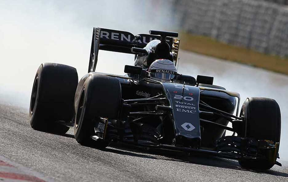 F1 test Barcellona 2016 Renault