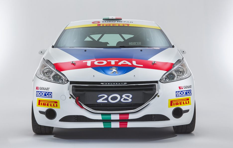 Peugeot 208 R2 CIR 2016 frontale