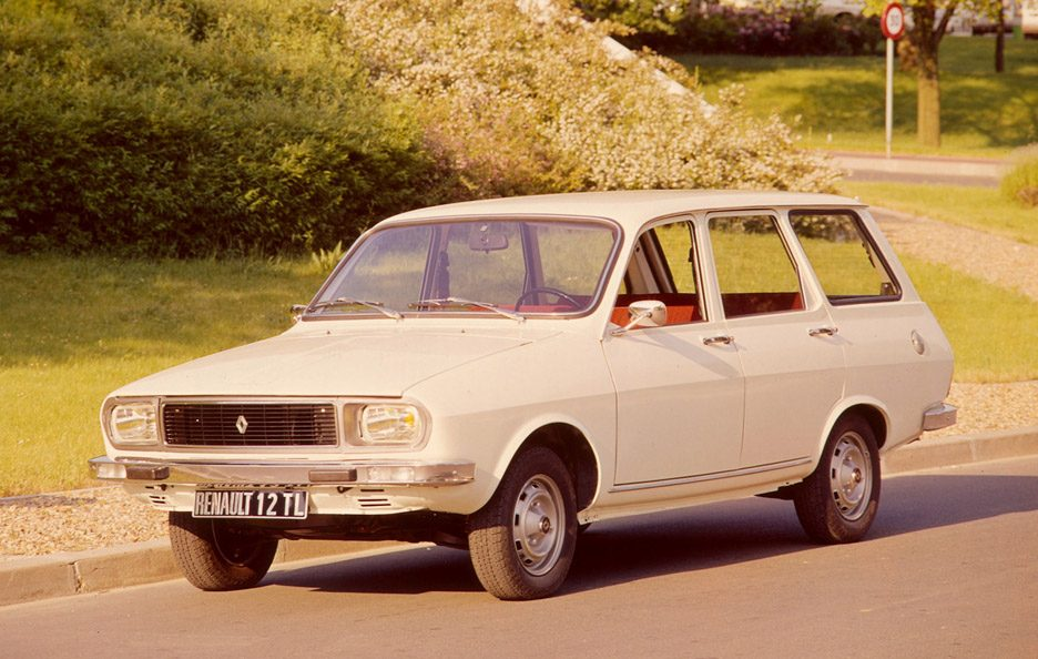 Renault 12 Wagon restyling
