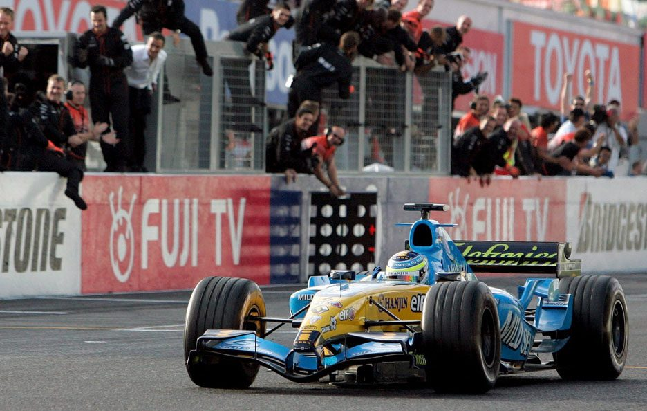 Renault F1 Giappone 2005