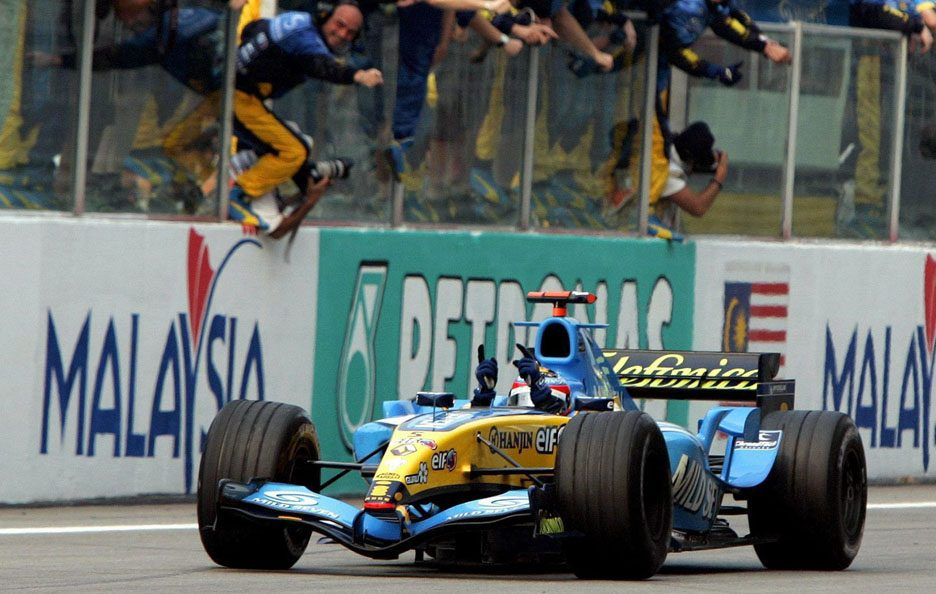 Renault F1 Malesia 2005