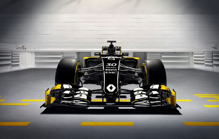 Renault R.S. 16 F1 2016 frontale