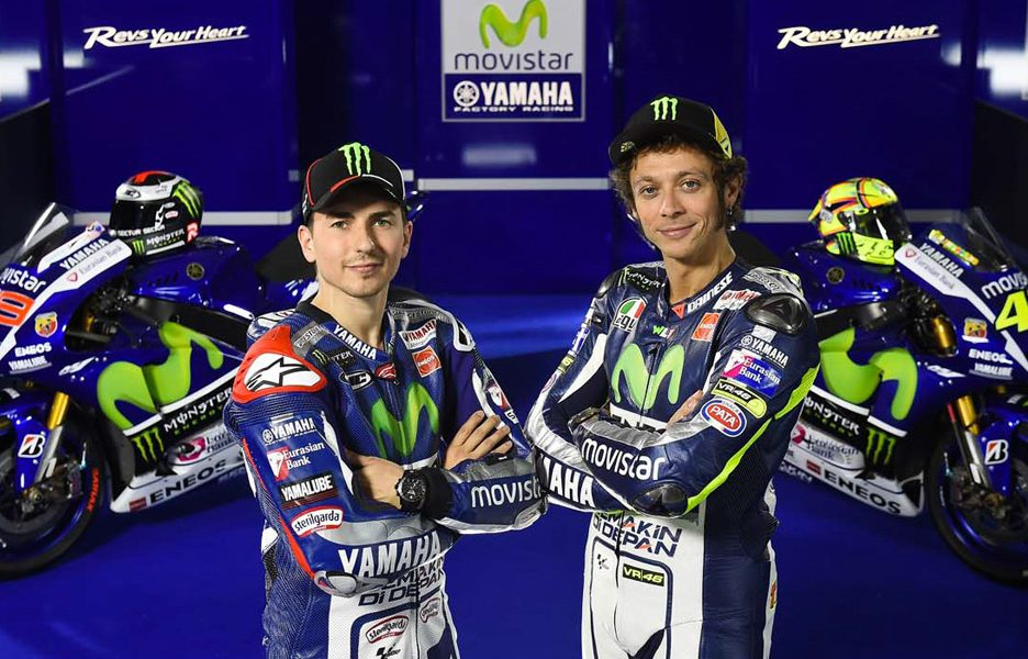 Yamaha M1 2015 Team Movistar - Rossi e Lorenzo