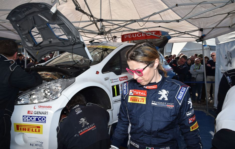 Anna Andreussi Peugeot 208 Rally Ciocco 2016