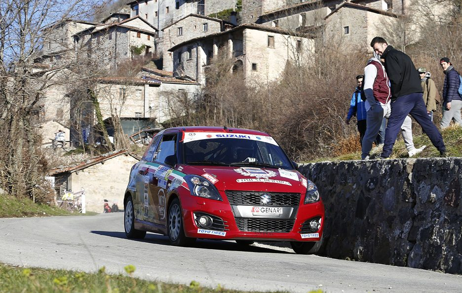 Stefano Martinelli Suzuki Swift Rally Ciocco 2016