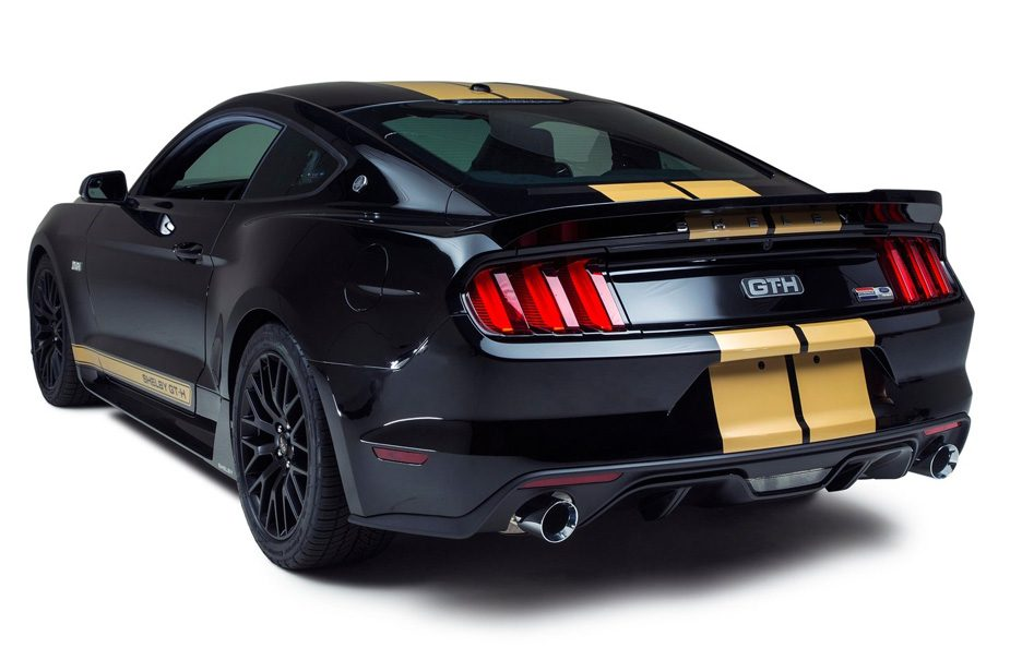 Ford Mustang Shelby GT-H tre quarti posteriore