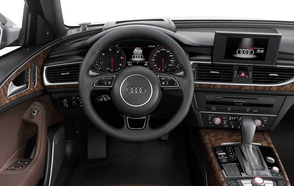 Audi A6 allroad interni