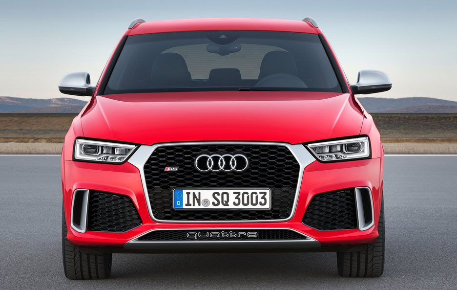 Audi RS Q3 frontale
