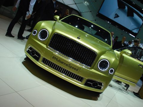Bentley Mulsanne Speed - Ginevra 2016