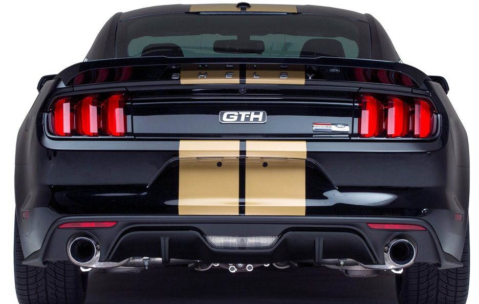 Ford Mustang Shelby GT-H coda
