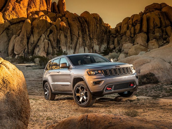 Jeep Grand Cherokee 2017 Trailhawk e Summit