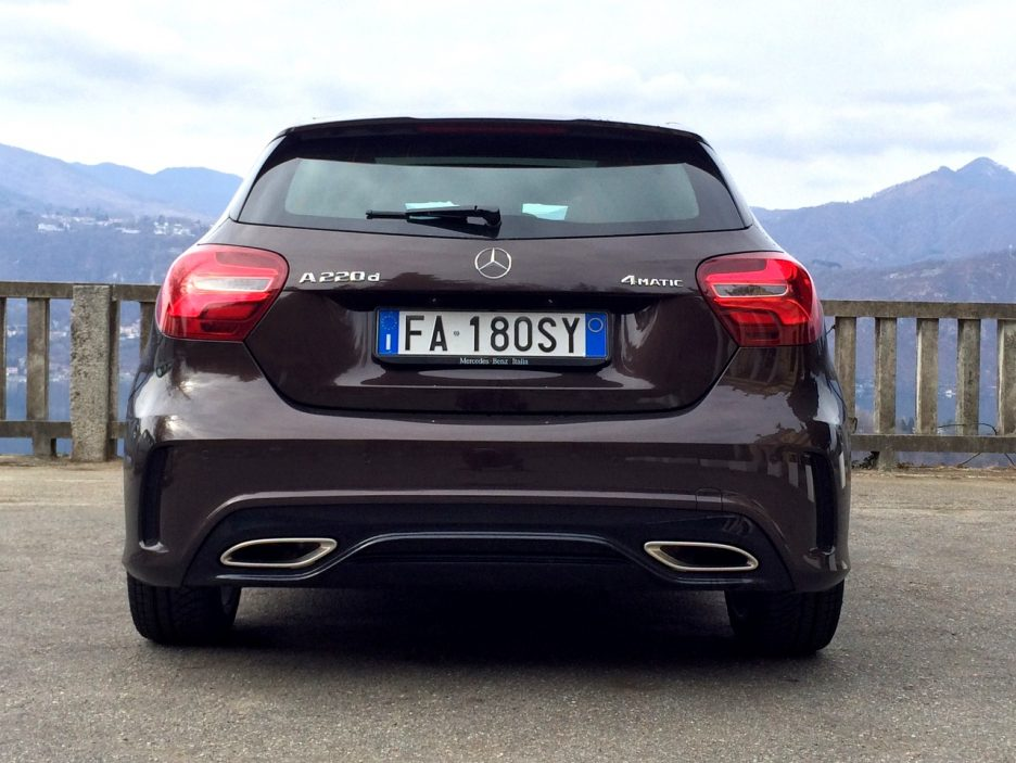 Mercedes A220 CDI 4Matic3