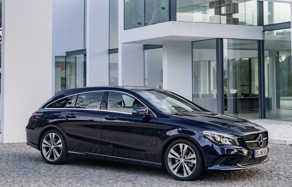 Mercedes CLA Shooting Brake 2016