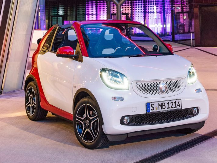 Smart fortwo cabrio, tanta voglia d'estate