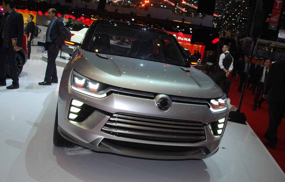 Ssangyong SIV Concept - Ginevra 2016