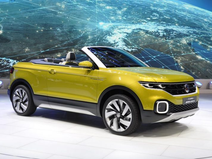 Volkswagen T-Cross Breeze e up! restyling al Salone di Ginevra 2016