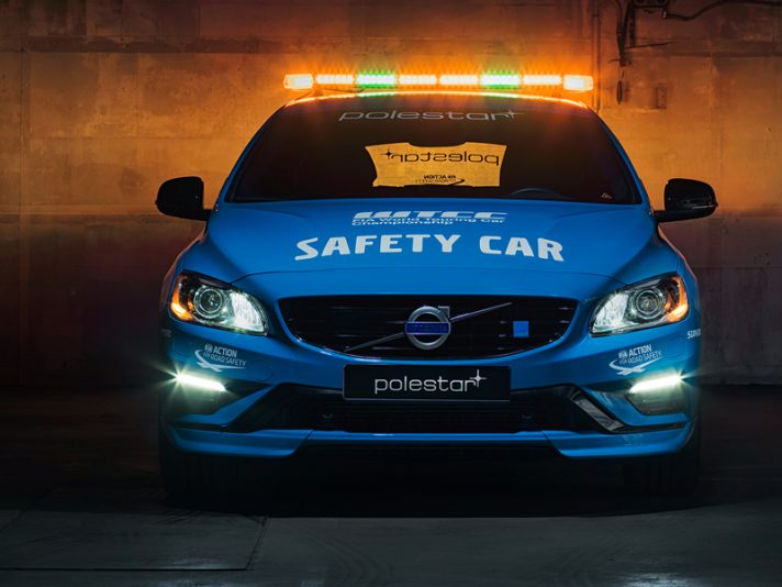 Volvo V60 Polestar - Safety Car WTCC 2016