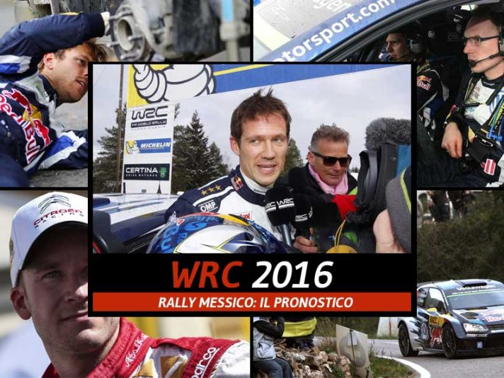 WRC Rally Messico 2016 pronostico