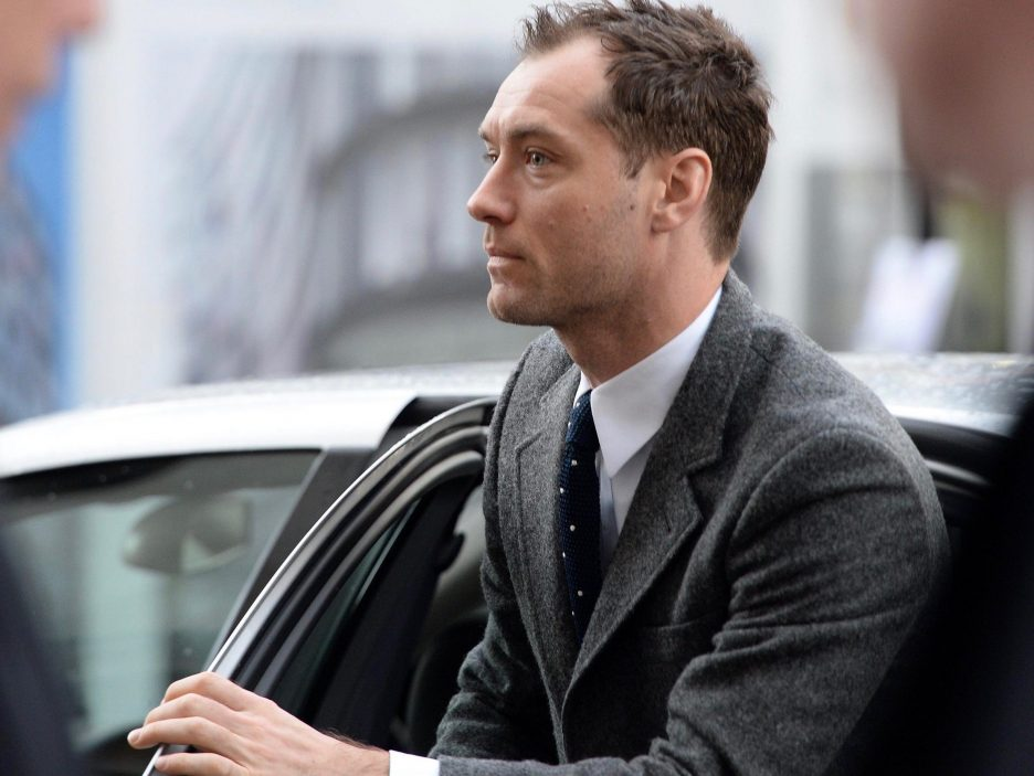 jude law mercedes benz