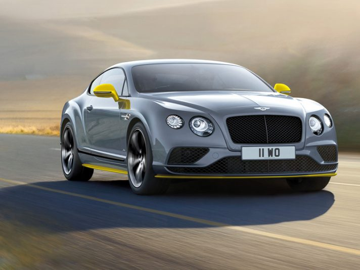 Bentley Continental GT Speed: restyling 2016