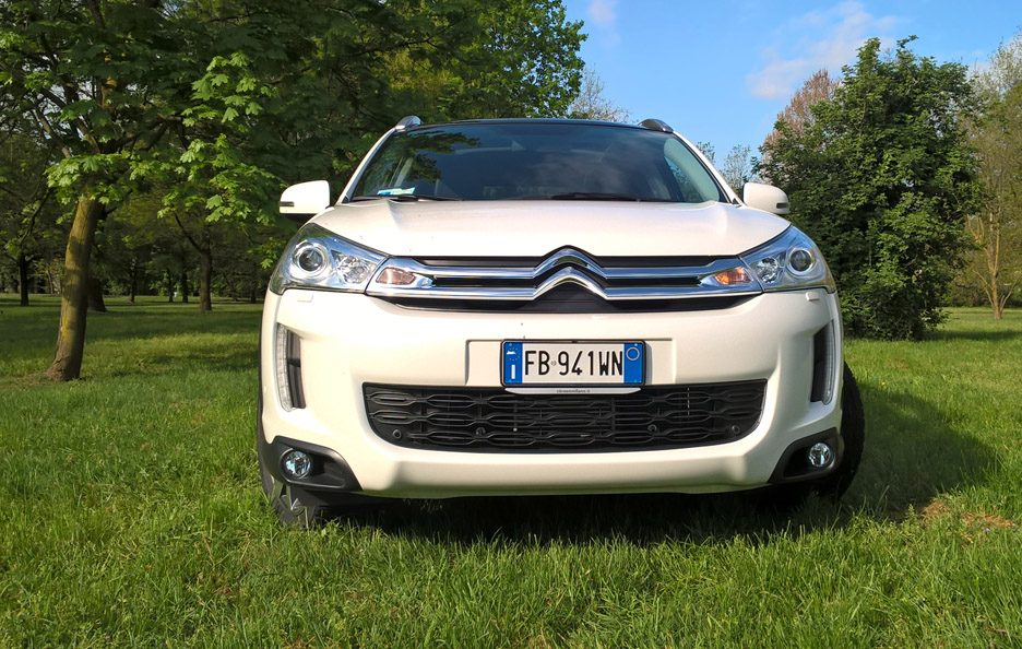 Citroën C4 Aircross frontale