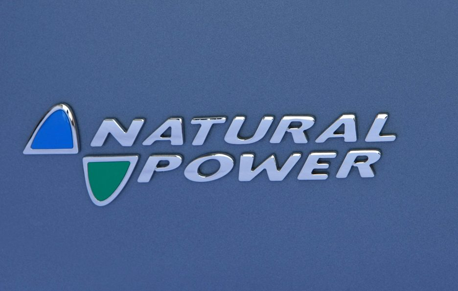 Fiat Grande Punto logo Natural Power