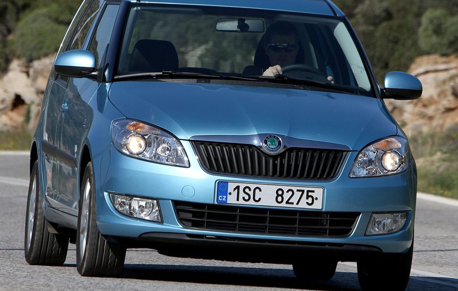 Skoda Roomster frontale