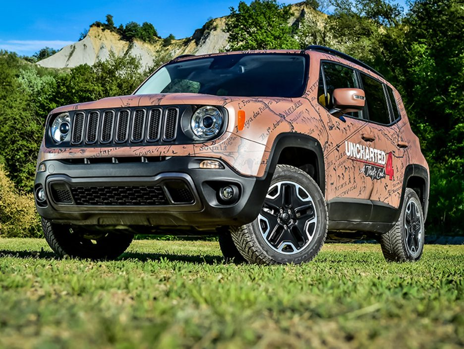 Garage Italia Customs - Jeep Renegade Uncharted Edition