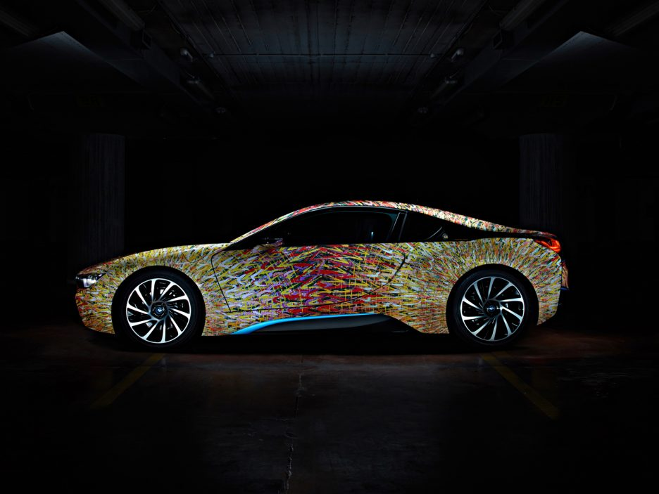 Garage Italia Customs - BMW i8 Futurism Edition