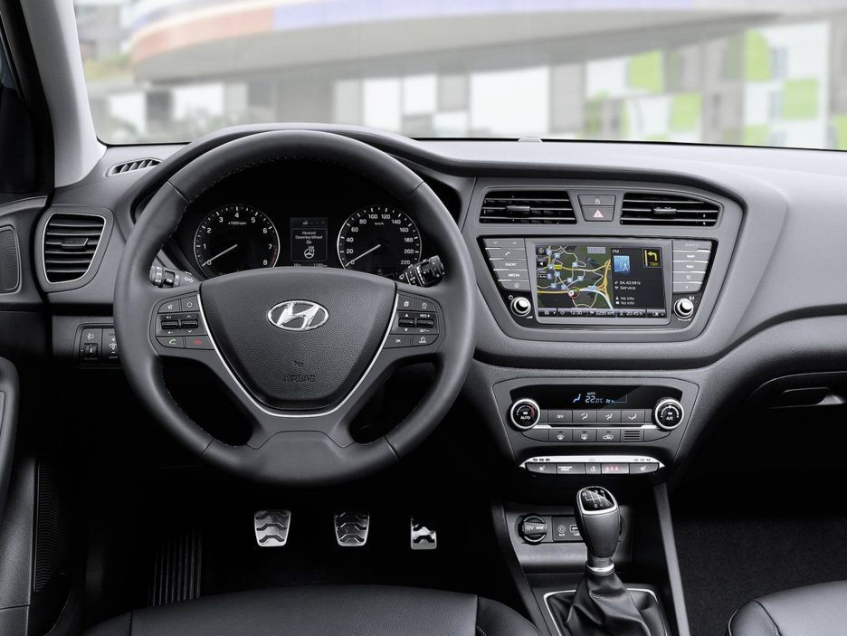 Hyundai i20 Active interni