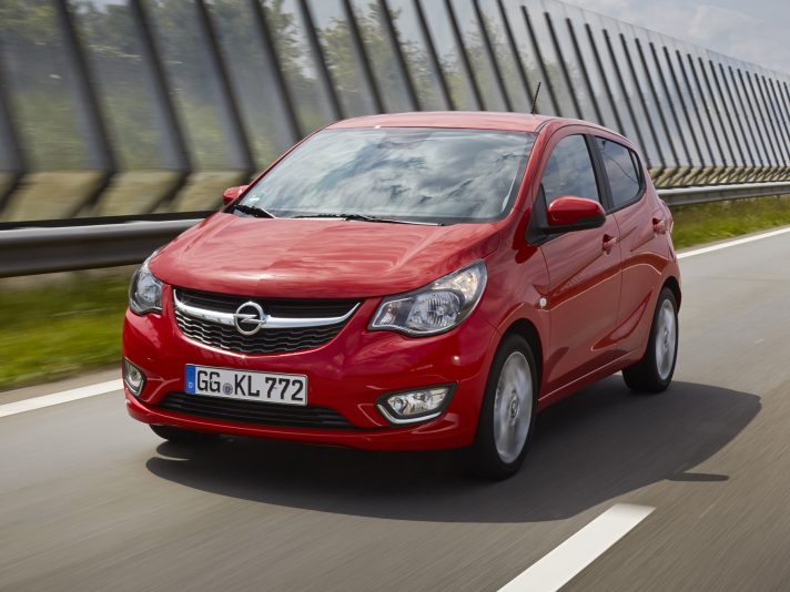 Opel Karl GPL Tech, efficiente e tecnologica