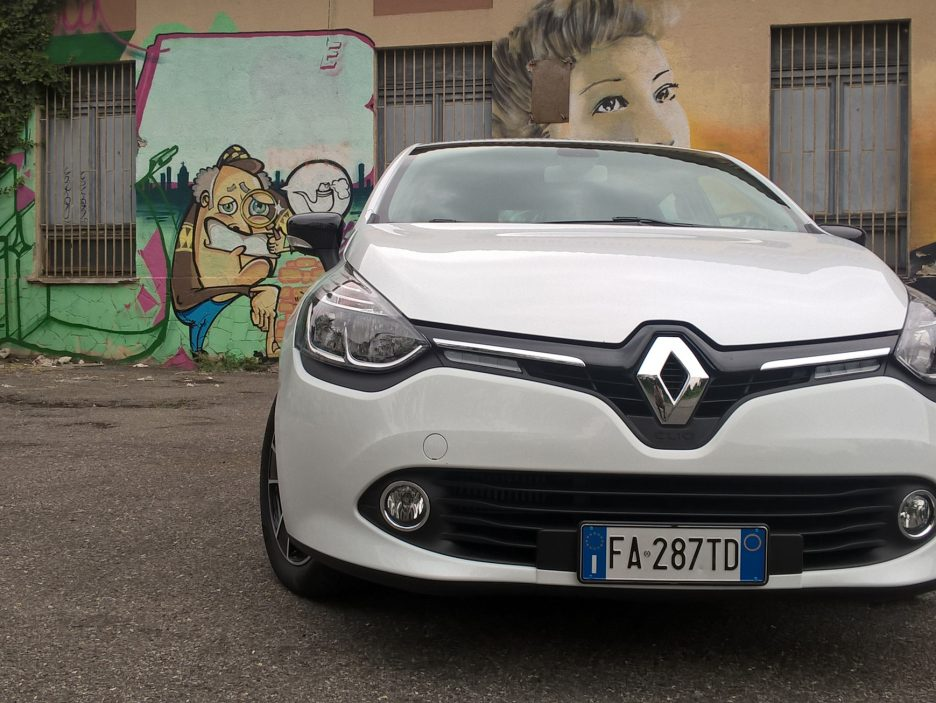 Renault Clio frontale