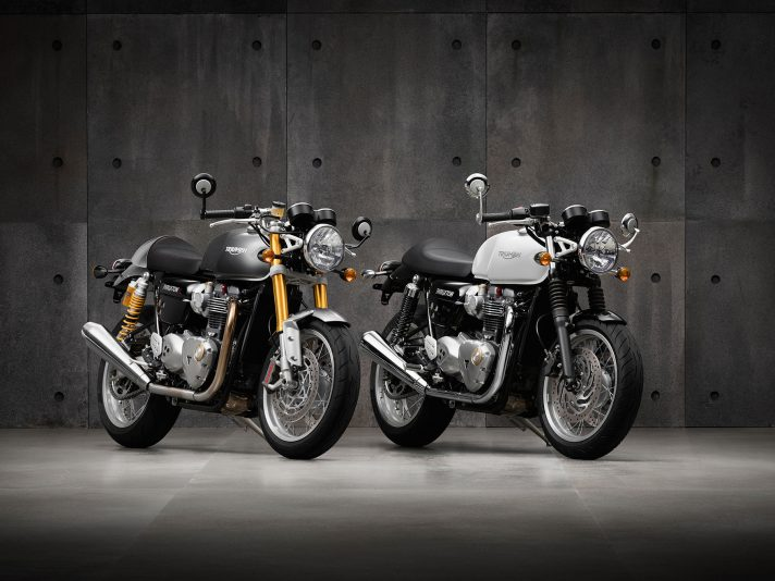 Triumph a The Reunion con le classiche
