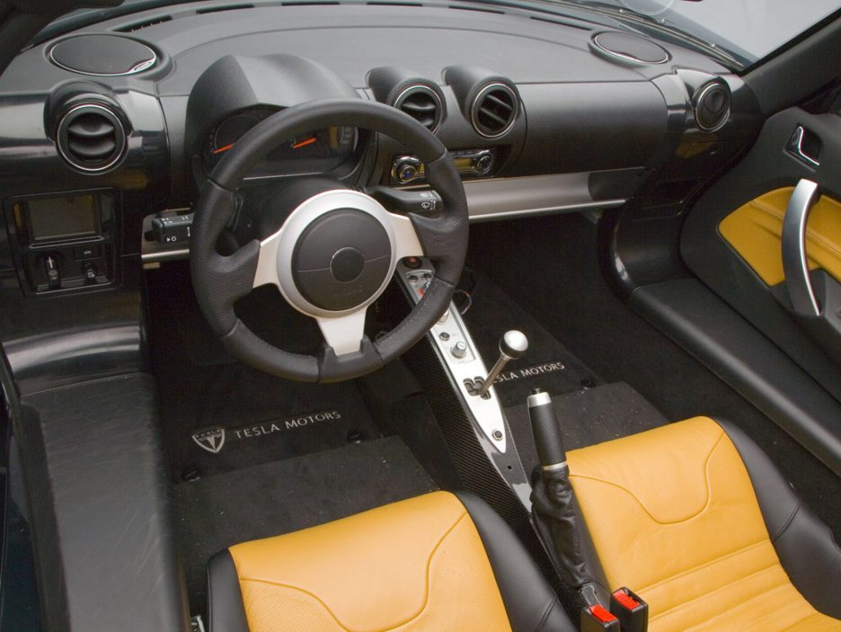 2008 - Tesla Roadster interni