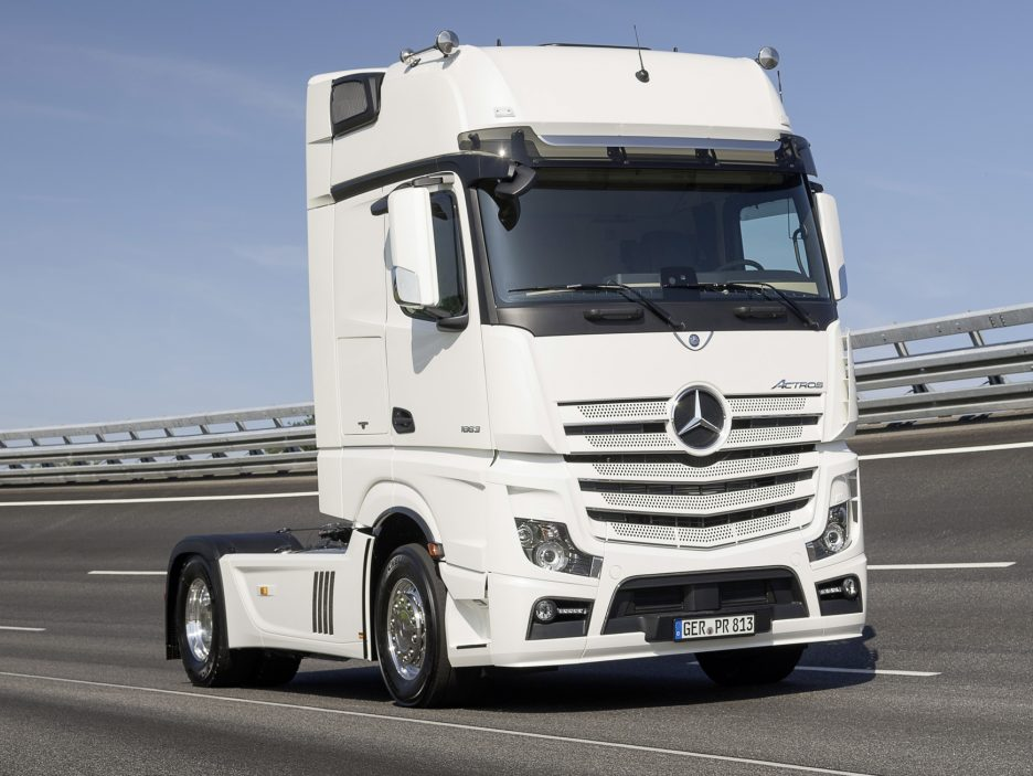 Mercedes Actros 20 Years Special Edition