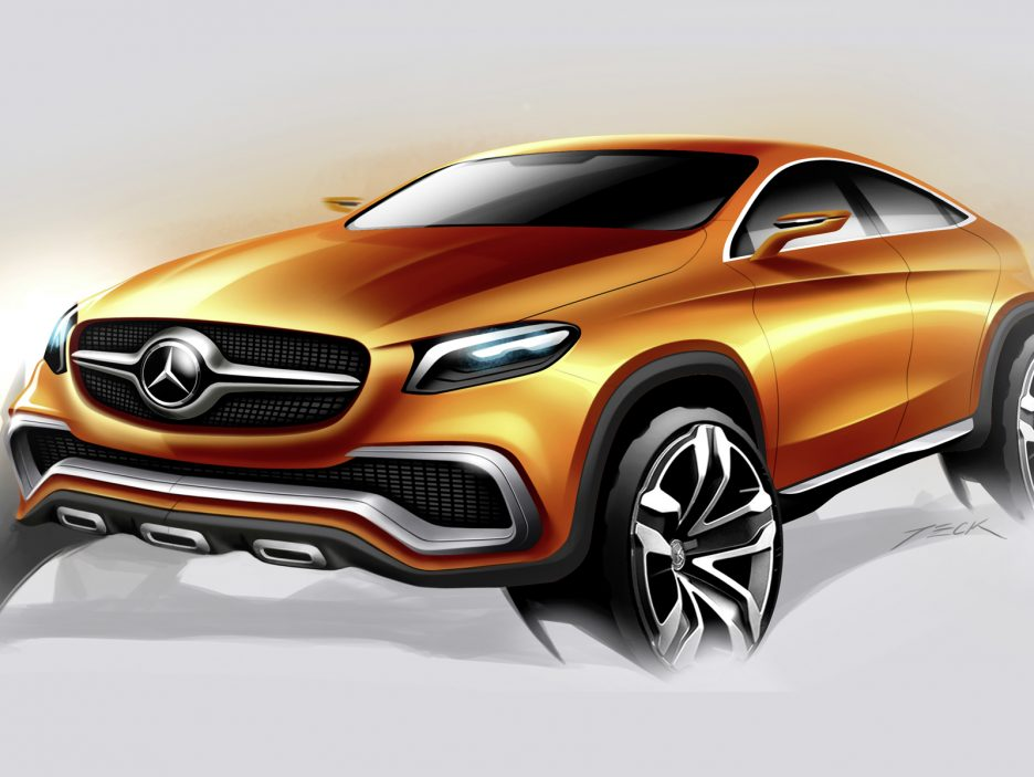 Mercedes SUV Concep