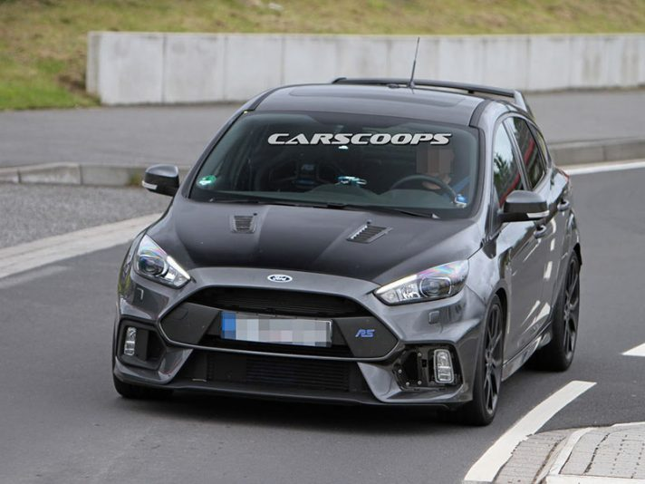 Ford Focus RS500 2017, le foto spia