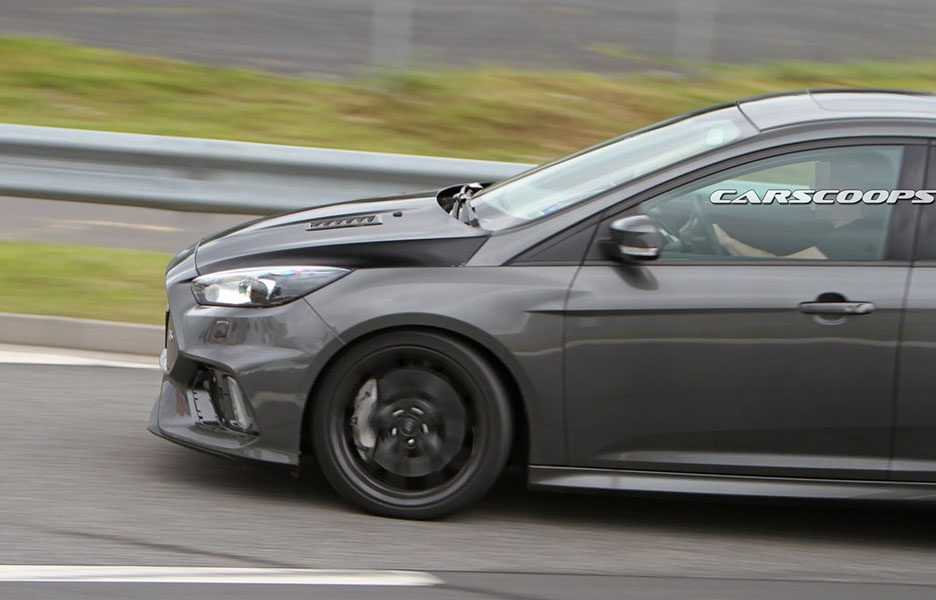 Ford Focus RS500 2017, foto spia