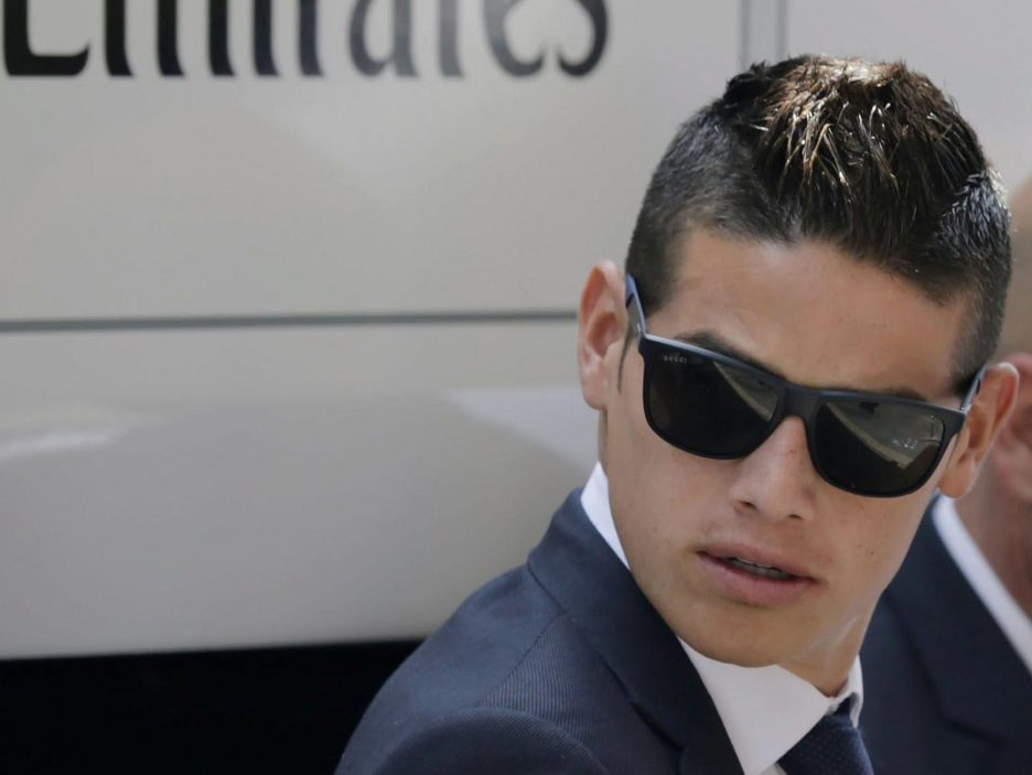 James Rodríguez (Colombia) (Real Madrid)