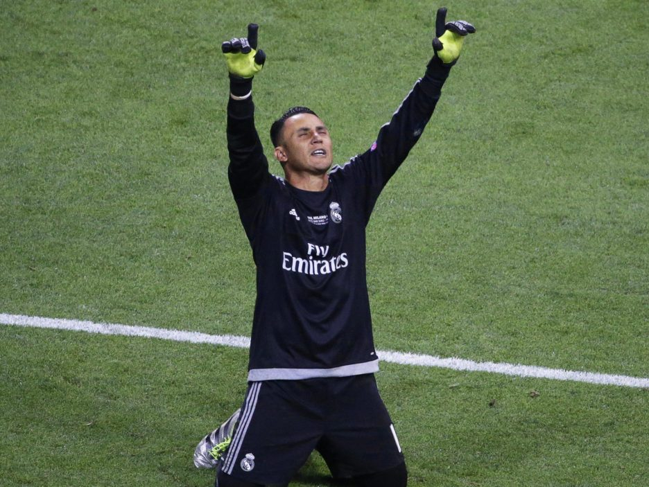 Keylor Navas (Costa Rica) (Real Madrid)