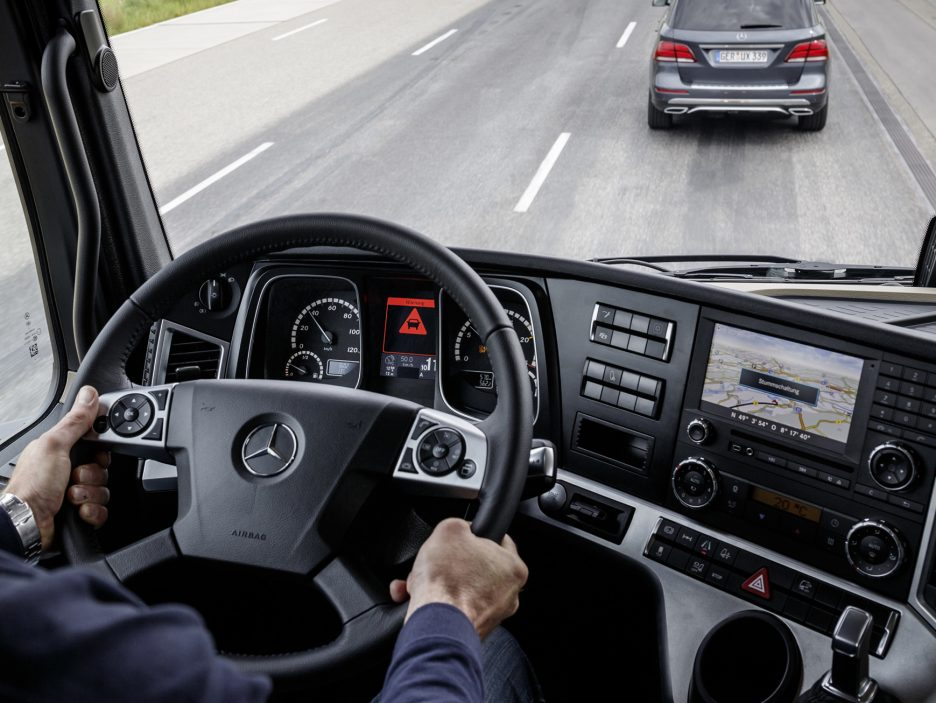 Mercedes Actros 20 Years Special Edition interni