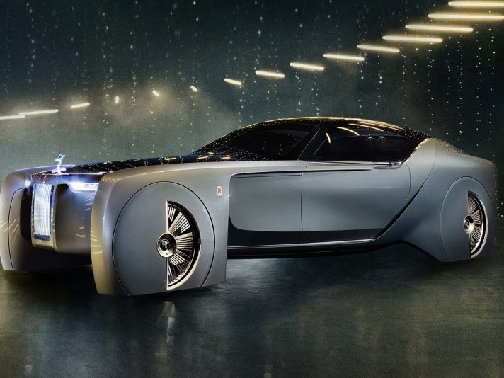 Rolls Royce Vision Next 100 Concept