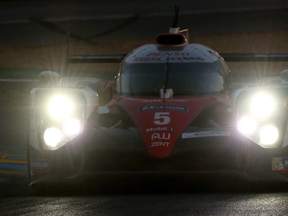 Toyota TS050 Le Mans 2016 frontale