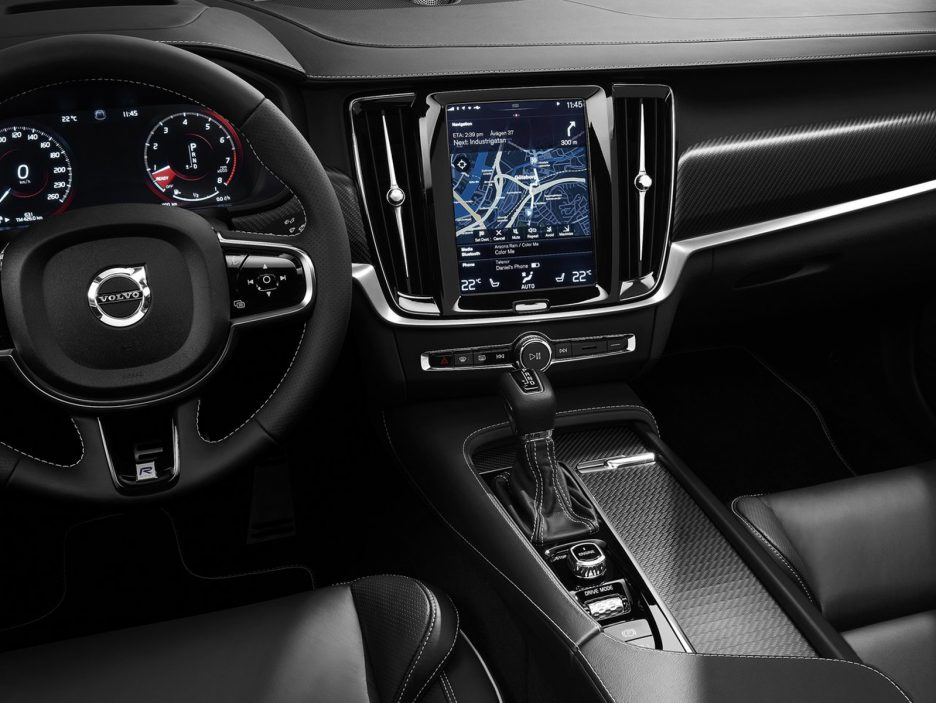 volvo s90 e v90 r design anteprime panoramauto. Black Bedroom Furniture Sets. Home Design Ideas