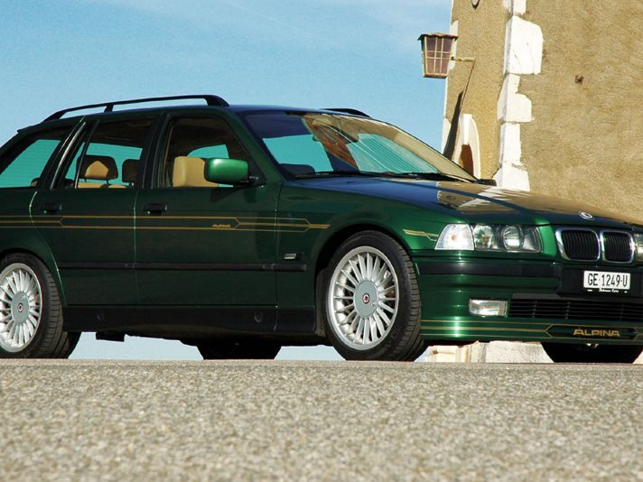 Alpina-BMW B3 Touring (1998): station wagon e sportiva