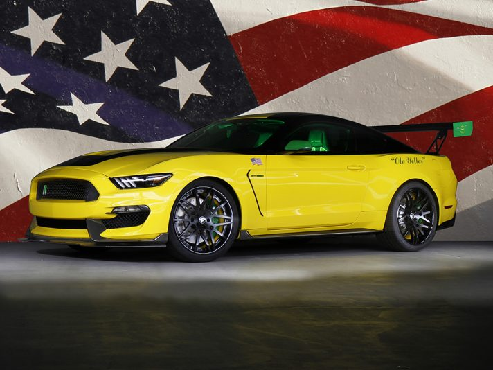 """Shelby GT350 Mustang """"Ole Yeller"""""""