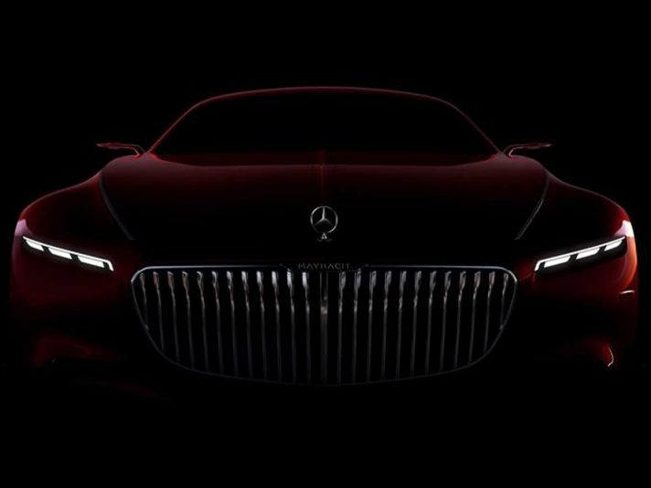 Maybach 6: la coupé di lusso da 6 metri debutta a Pebble Beach