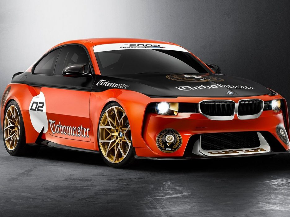 BMW 2002 Hommage Pebble Beach Concept 2016